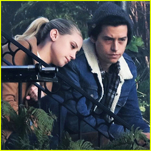 Cole Sprouse & Lili Reinhart Film Sweet Bughead Scenes for 'Riverdale'