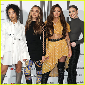 Little Mix Drop Two Teasers For Think About Us Lyric Video Little Mix Music Just Jared Jr