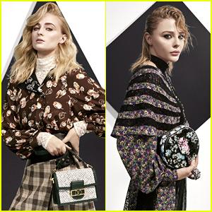 Chloe Moretz, Sophie Turner, & More Star in Louis Vuitton Look Book
