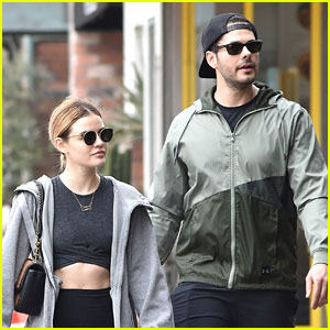 Lucy Hale Reunites With 'Life Sentence' Co-Star Jayson Blair For Weekend Workout!