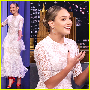 91cb9123b0cf Maddie Ziegler Wore Sia s Dress For Her  Tonight Show  Appearance ...