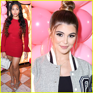 Jordyn Woods & Olivia Jade Help Anastasia Karanikolaou Celebrate Her Oh Polly Valentine's Day Collection