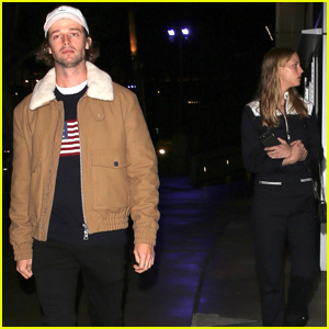 Patrick Schwarzenegger & Girlfriend Abby Champion Check Out a Concert in LA