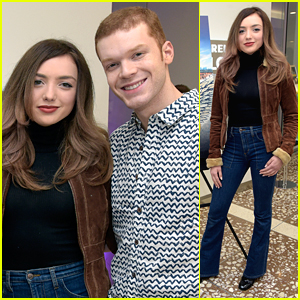 Peyton List & Cameron Monaghan Dish About New Movie 'Anthem of a Teenage Prophet'