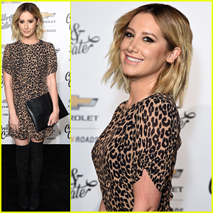 Ashley Tisdale Slays in Leopard-Print While Honoring 100 Fierce Women