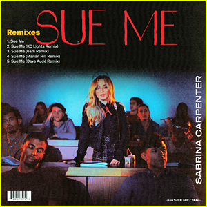 Sabrina Carpenter Releases 'Sue Me' Remix EP - Listen Here!