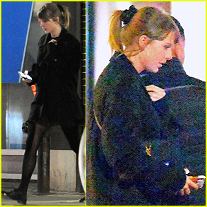 Taylor Swift Keeps It Chic While Hitting the Recording Studio!