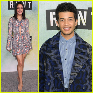 Vanessa Hudgens, Jordan Fisher & More Step Out for 'Rent Live' Press Day!