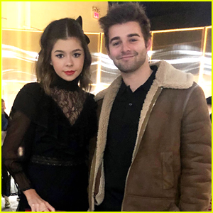 Addison Riecke Has 'Thundermans' Reunion With Jack Griffo at NYFW