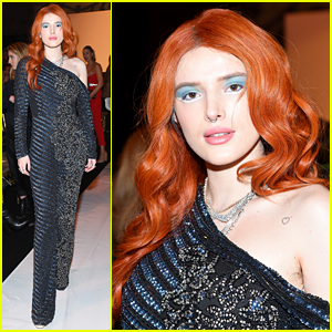 Bella Thorne Adds a Pop of Color with Her Blue Eyeshadow