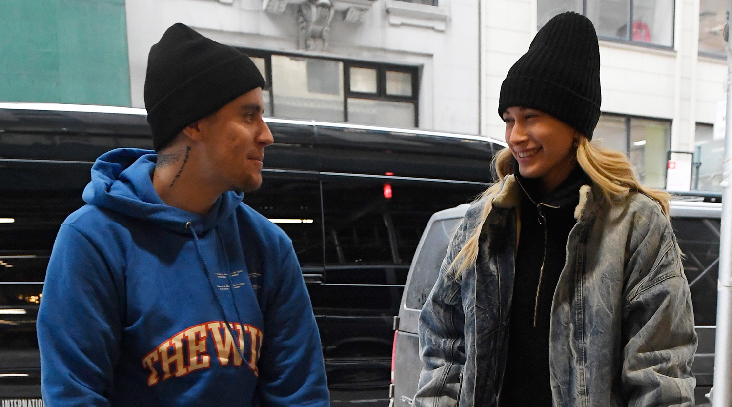 Justin & Hailey Bieber Only Have Eyes for Each Other While Out in NYC
