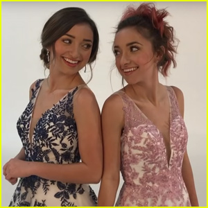 Brooklyn & Bailey Announce Their Own Prom Dress Collection!