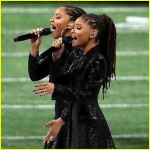 Watch Chloe x Halle's Super Bowl Performance of 'America the Beautiful'