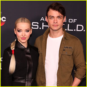 Dove Cameron & Thomas Doherty Have a Broadway Date Night!