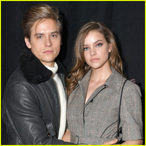 Dylan Sprouse Joins Barbara Palvin at BOSS Fashion Show!