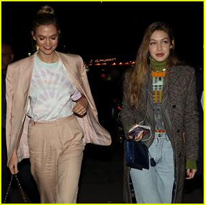 Gigi Hadid & Karlie Kloss Kick Off Paris Fashion Week Together!