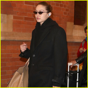 Gigi Hadid Jets to London For Fashion Week!