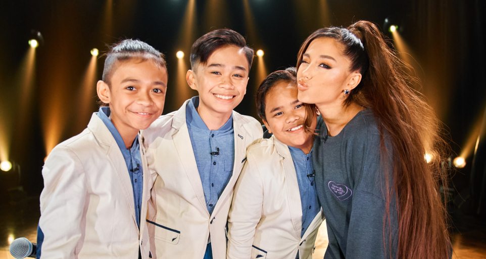 Ariana Grande Sings 'And I Am Telling You' with the TNT Boys – Watch Now!