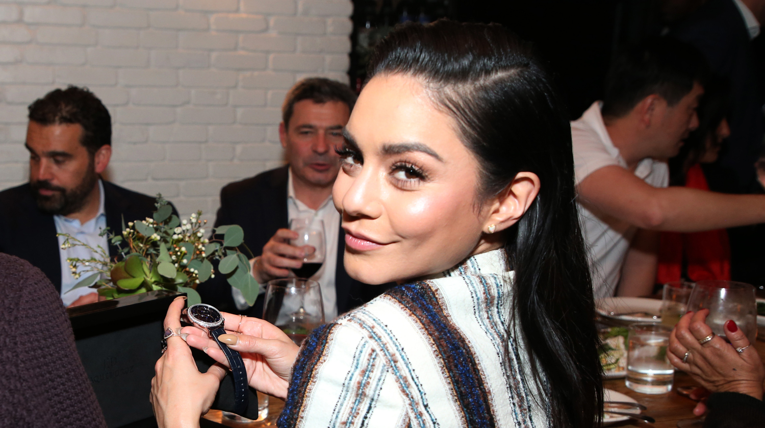 Vanessa Hudgens Has the Perfect Way to Cover Up a Pimple