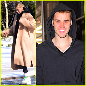 Justin Bieber Gives Glimpse of His Bare Chest During Afternoon Stroll