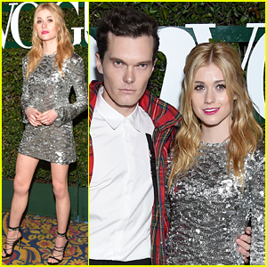 Katherine McNamara & Luke Baines Bring 'Shadowhunters' to Teen Vogue's Young Hollywood Party