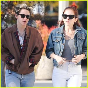 Kristen Stewart Spends The Weekend With Sara Dinkin