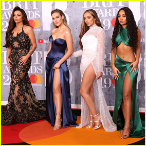 Little Mix Sizzle In Glam Gowns On Red Carpet at BRIT Awards 2019