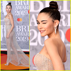 Madison Beer Wears Completely Sheer Dress To BRIT Awards 2019