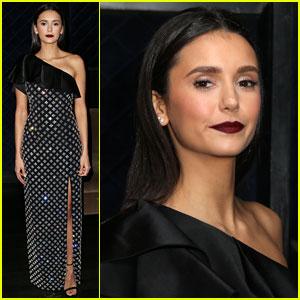 Nina Dobrev Shows Off Her Style at Hollywood Beauty Awards 2019