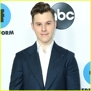 Nolan Gould Suits Up For ABC's TCA Party After 'Modern Family' Final Season Announcement