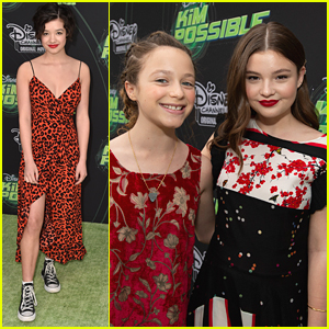Peyton Elizabeth Lee Joins 'Fast Layne' Stars at 'Kim Possible' Premiere