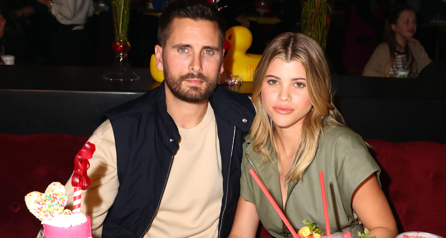 Sofia Richie And Scott Disick Have A Sweet Valentines