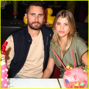 Sofia Richie and Scott Disick Have a Sweet Valentine's Celebration!