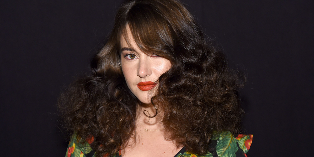 Shailene Woodley Channels The 1970s at Marc Jacobs' NYFW Show
