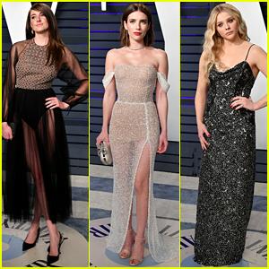 Shailene Woodley, Emma Roberts, & Chloe Moretz Join Forces at Vanity Fair's Oscars 2019 Party