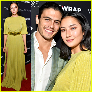 Adeline Rudolph & Tommy Martinez Couple Up For The Wrap's Women & Inclusion Event