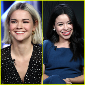Maia Mitchell & Cierra Ramirez Attend Freeform's Youth Movement Panel!