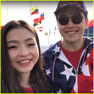 Alex & Maia Shibutani Share Long-Awaited Olympics Vlog - Watch Now!