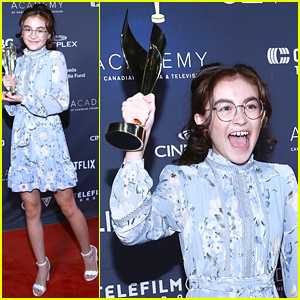 Anna Cathcart Wins Best Performance for 'Odd Squad' at Canadian Screen Awards!