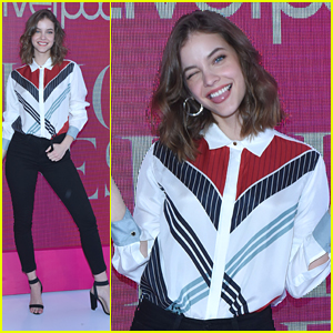 Barbara Palvin Is All Smiles at Liverpool Fashion Fest in Mexico City