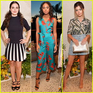 Chandler Kinney, Vanessa Marano & More Step Out For Ted Baker London's Collection Launch