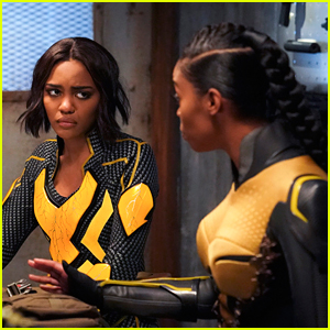 China Anne McClain Dishes On Her Lightning Suit Ahead of 'Black Lightning's Season 2 Finale