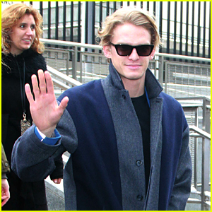 Cody Simpson Steps Out for International Women's Day Luncheon at UN