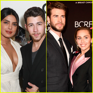 Priyanka Chopra & Nick Jonas Planning Double Date with Miley Cyrus & Liam Hemsworth!