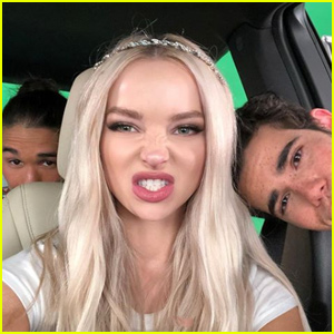 Dove Cameron Spends the Day With the 'Descendants' Cast!