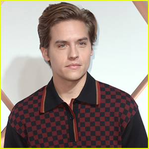 Dylan Sprouse Mixes Stripes & Plaid at Hudson Yards Preview Celebration Event