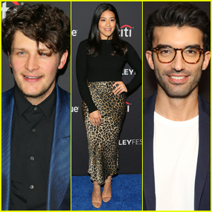 Gina Rodriguez Joins Brett Dier & Justin Baldoni at 'Jane the Virgin' Panel at PaleyFest