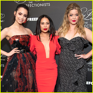 Janel Parrish & Sasha Pieterse Are Having The Same Feeling About 'The Perfectionists' As They Did With 'Pretty Little Liars'