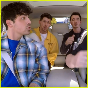 The Jonas Brothers Have a Blast on 'Carpool Karaoke' - Watch Here!