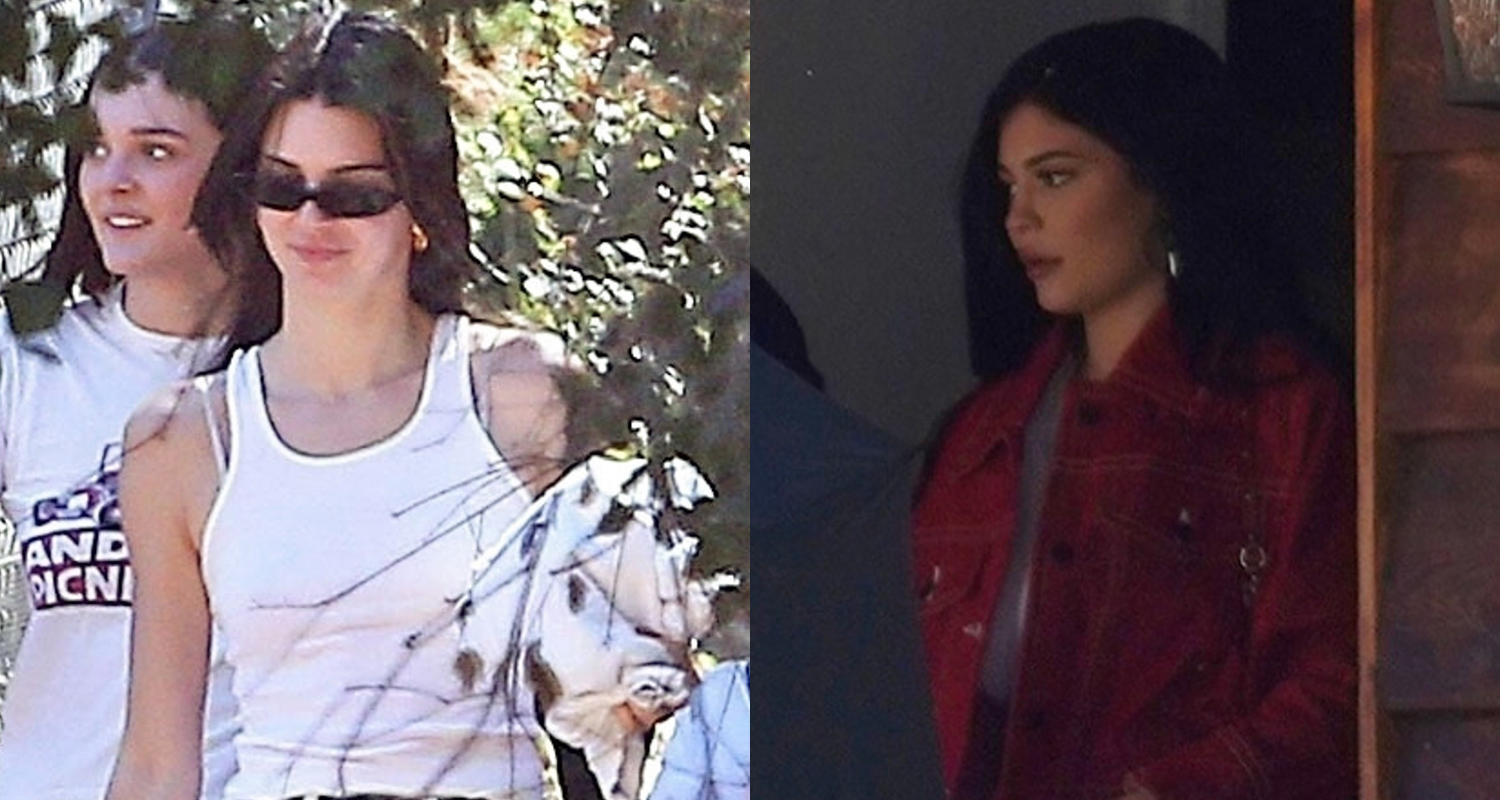 Kendall & Kylie Jenner Attend Kanye West's Church Service!